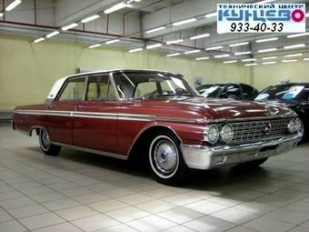 1962 Ford Galaxy Pictures 5768cc Gasoline Fr Or Rr