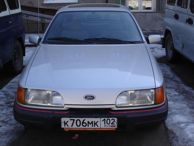Форд сиерра фото 1988