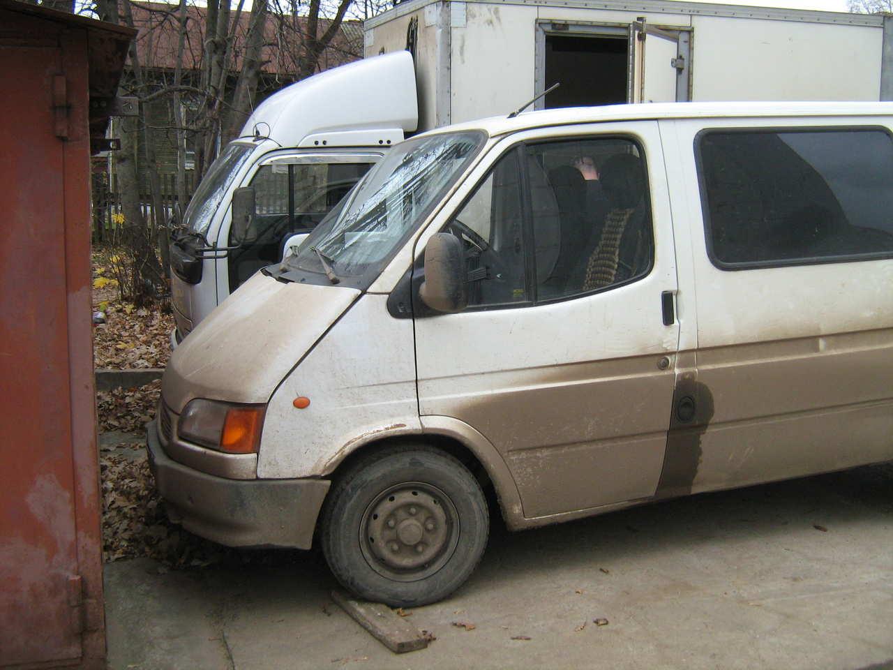Форд транзит 1996 фото