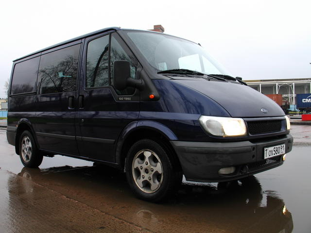 2001 Ford Transit Specs Engine Size 1998cm3 Fuel Type