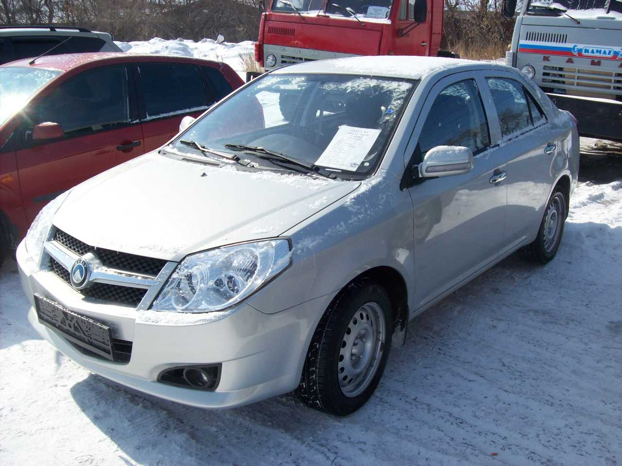 2009 geely mk pictures 1500cc for sale