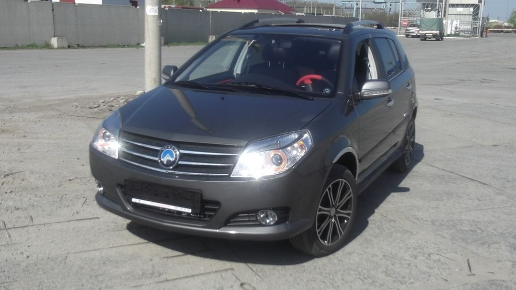 2012 Geely Mk Cross Pictures 1 5l Gasoline Ff Manual