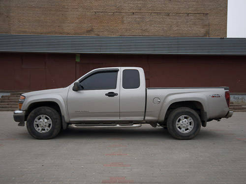 2005 GMC Canyon specs, Engine size 2.8, Fuel type Gasoline ...