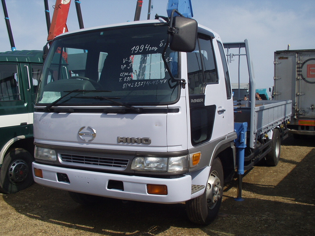 1994 Hino Ranger Pictures 8000cc Diesel Fr Or Rr Manual For Sale Engine Diagrams