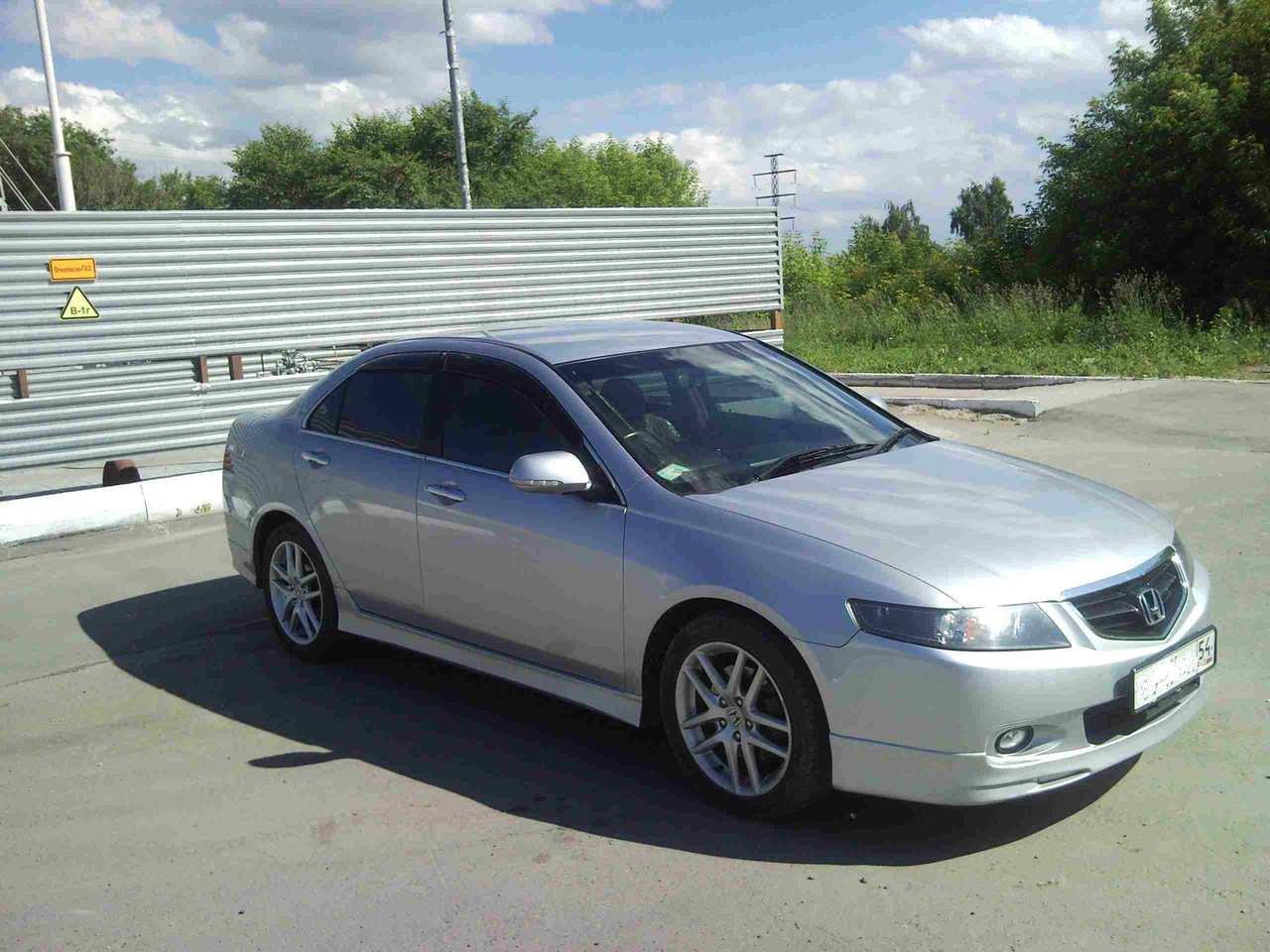 2003 Honda Accord 2 4l Gasoline FF Automatic