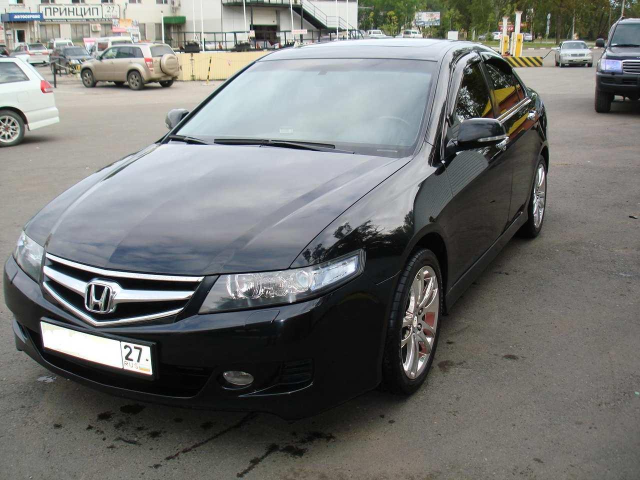 2007 Honda Accord s 2 4 Gasoline FF Automatic For