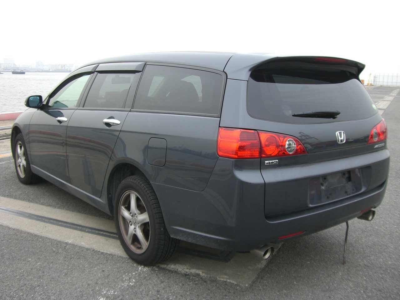 used 2005 honda accord wagon photos 2400cc gasoline automatic for sale. Black Bedroom Furniture Sets. Home Design Ideas
