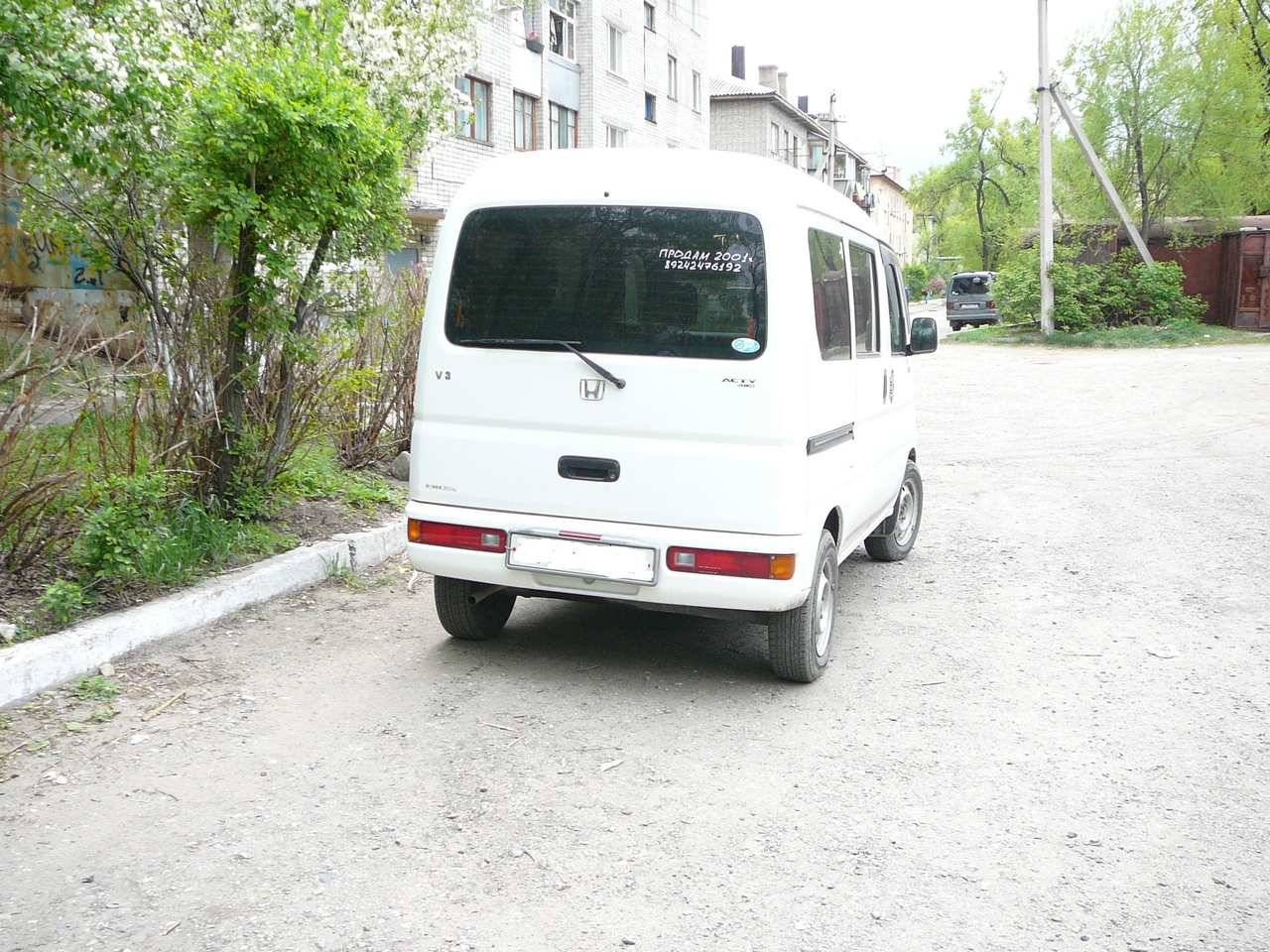 2001 Honda ACTY Pictures, 0.7l., Gasoline, Automatic For Sale