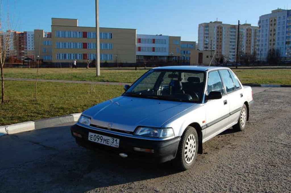 1990 Honda Civic Pictures, 1600cc., Gasoline, FF, Manual ...