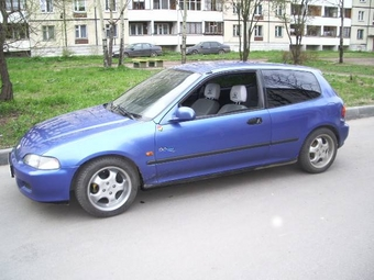 1993 Honda Civic Wallpapers 1 3l Gasoline Ff Manual border=