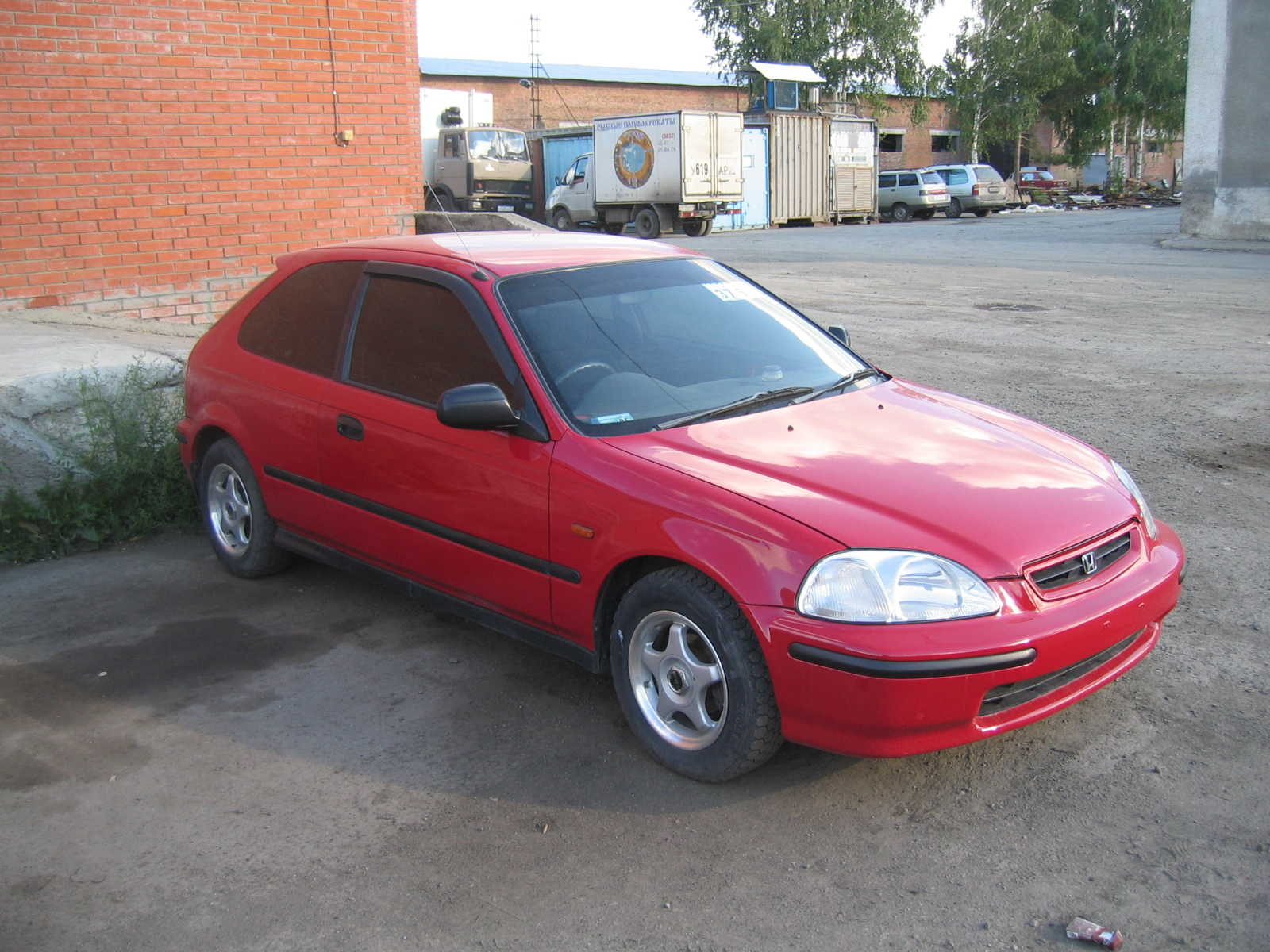 1996 Honda Civic Pictures 1300cc Gasoline Ff