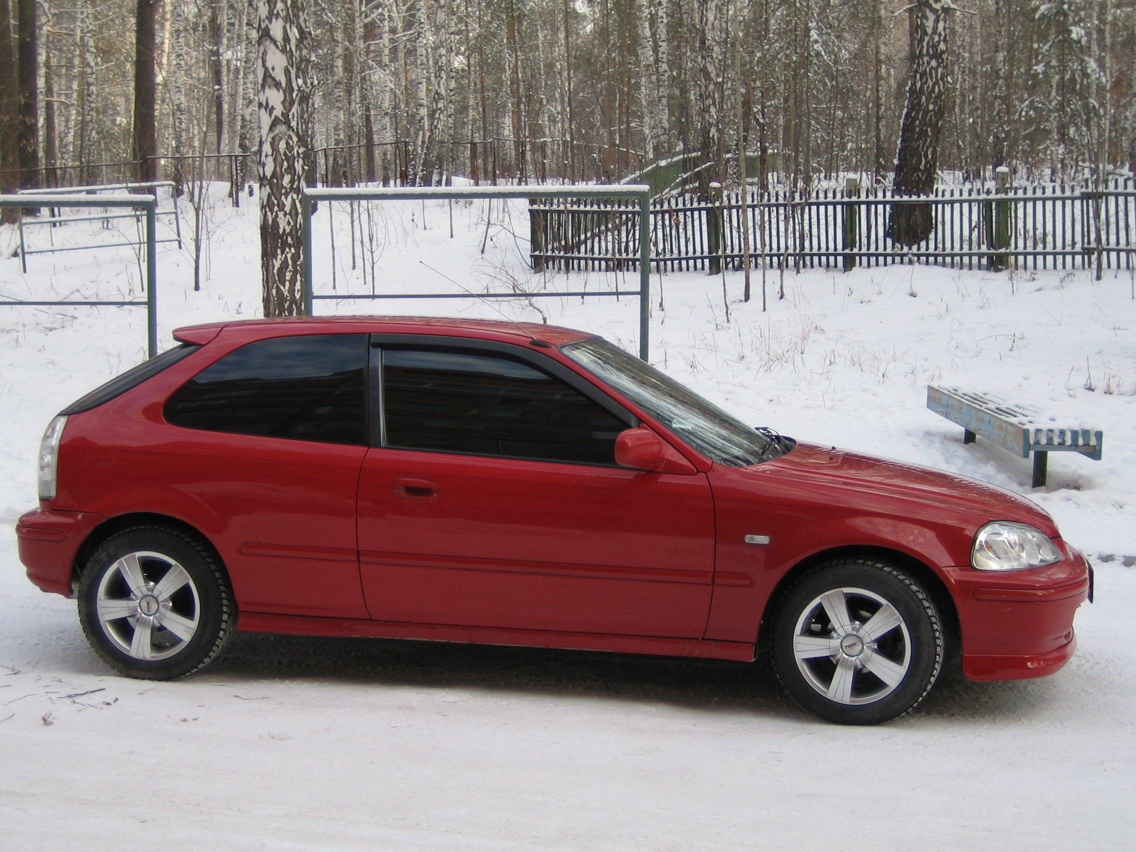 1996 Honda Civic Pictures, 1.3l., Gasoline, FF, Automatic For Sale