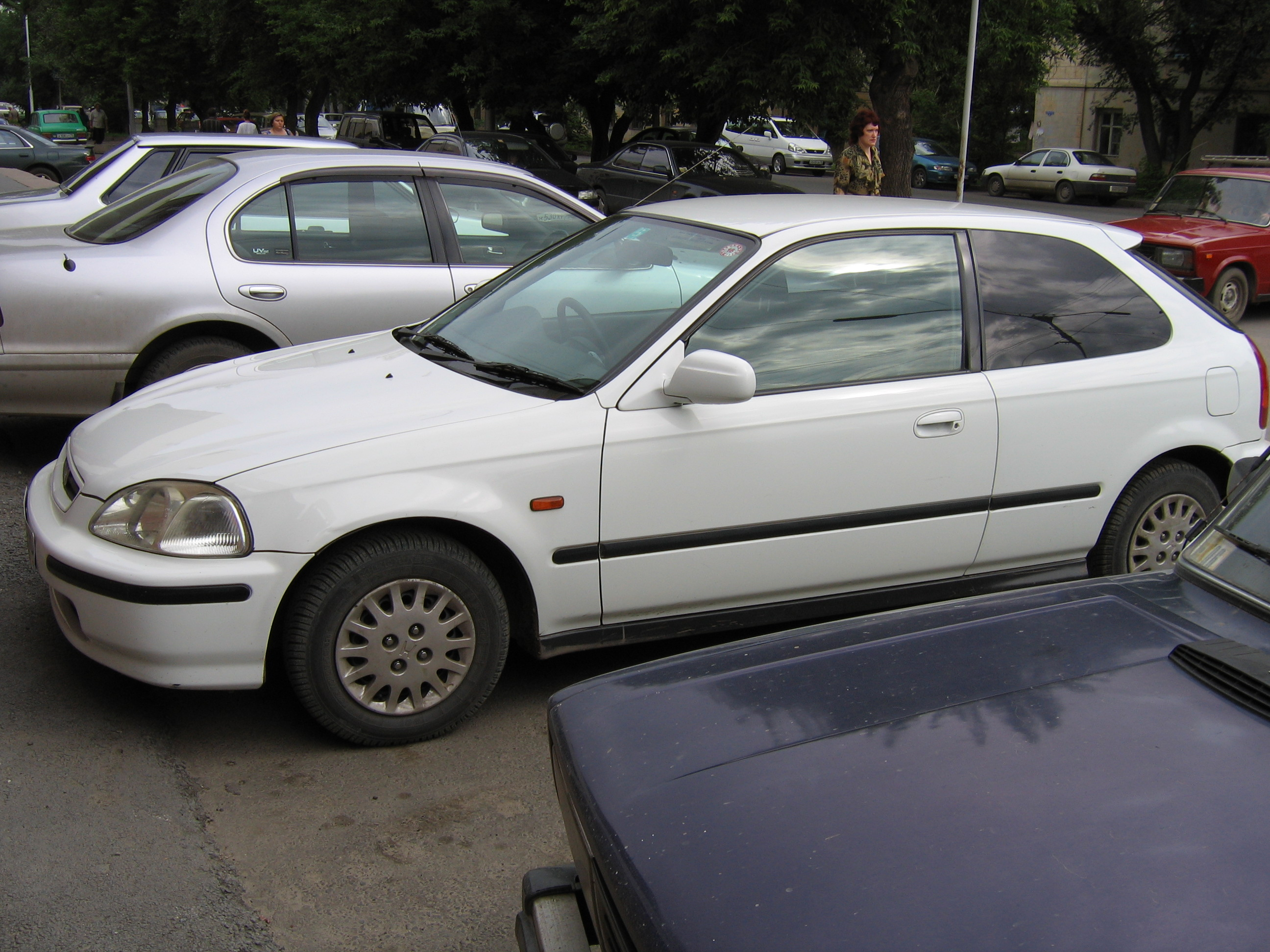 1998 Honda Civic Pictures, 1300cc., Gasoline, FF, Automatic For Sale