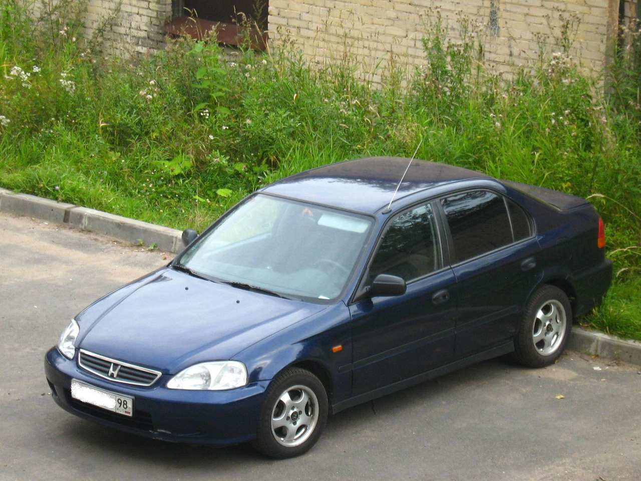 2000 Honda Civic Pictures, 1.4l., Gasoline, FF, Manual For Sale