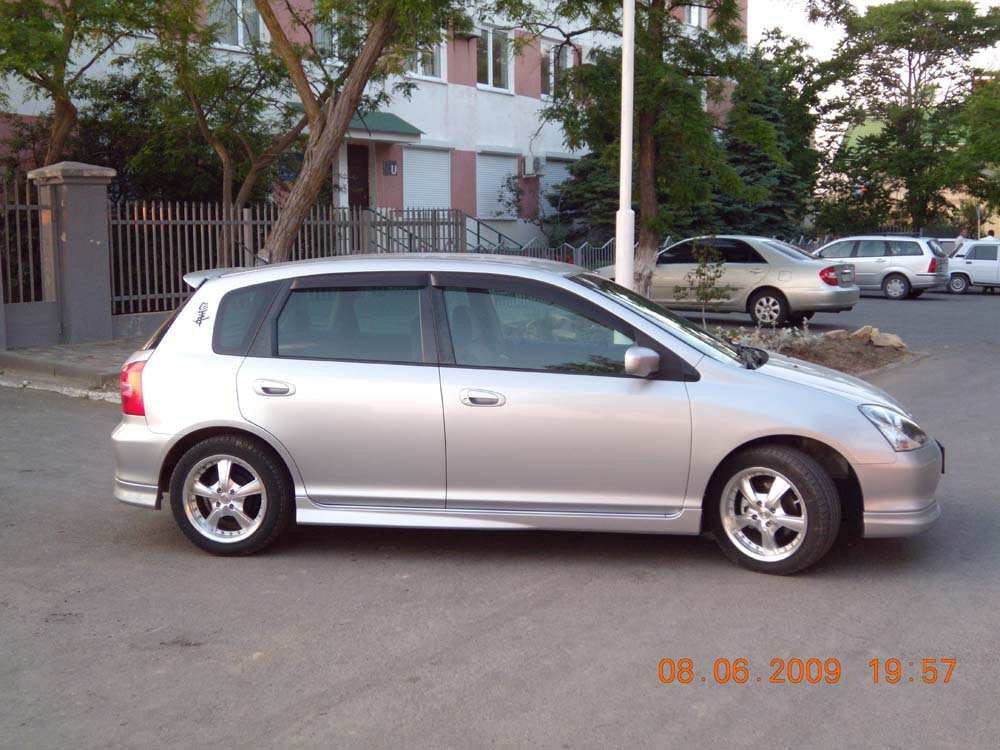 2001 honda civic pictures gasoline ff cvt for sale for Honda civic overheating