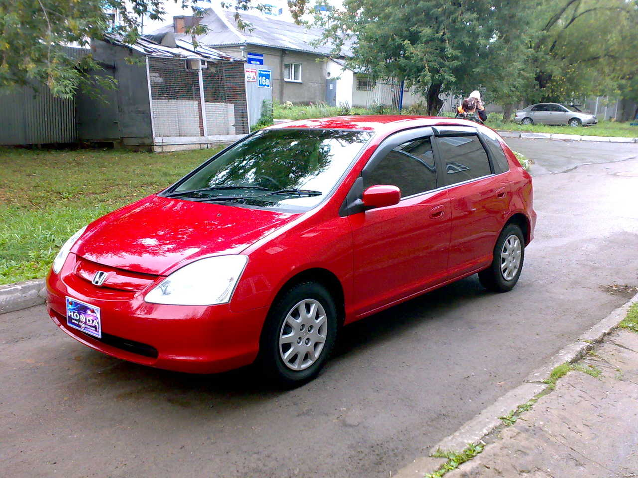 2002 honda civic pictures gasoline ff automatic for Honda civic overheating