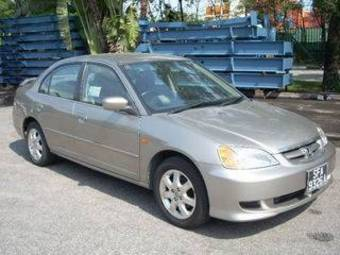 2003 honda civic pictures gasoline ff automatic for Honda civic overheating