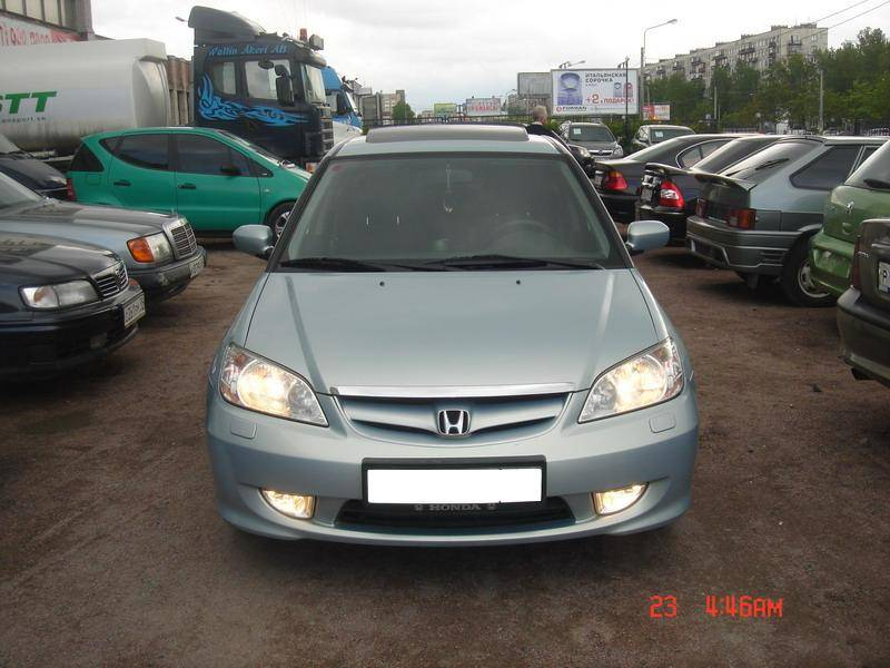 2004 honda civic pictures gasoline ff automatic for Honda limp mode