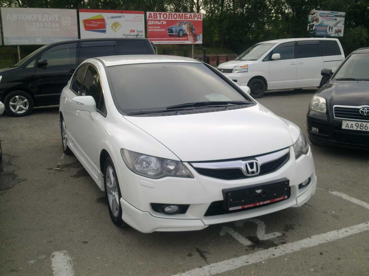 2009 honda civic photos 1 8 gasoline ff automatic for sale for Honda limp mode