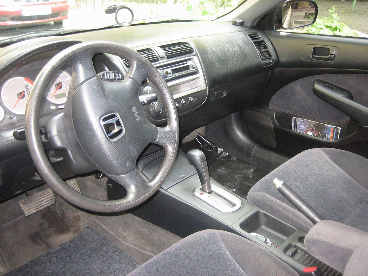 Photo #3   Enlarge Photo 1280x960 2002 Honda Civic Coupe Photos