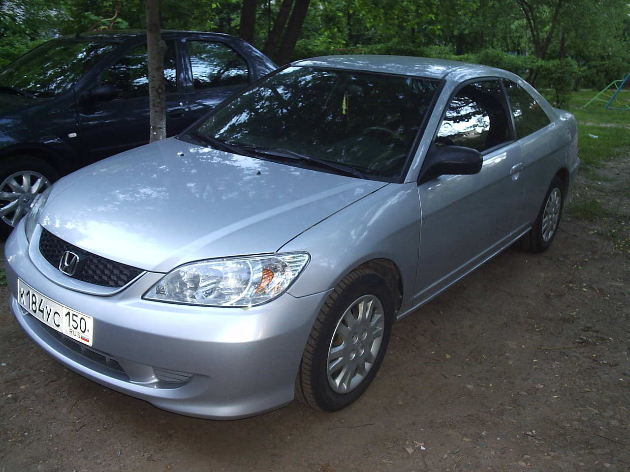 2004 honda civic coupe photos 1 7 gasoline ff automatic for sale. Black Bedroom Furniture Sets. Home Design Ideas