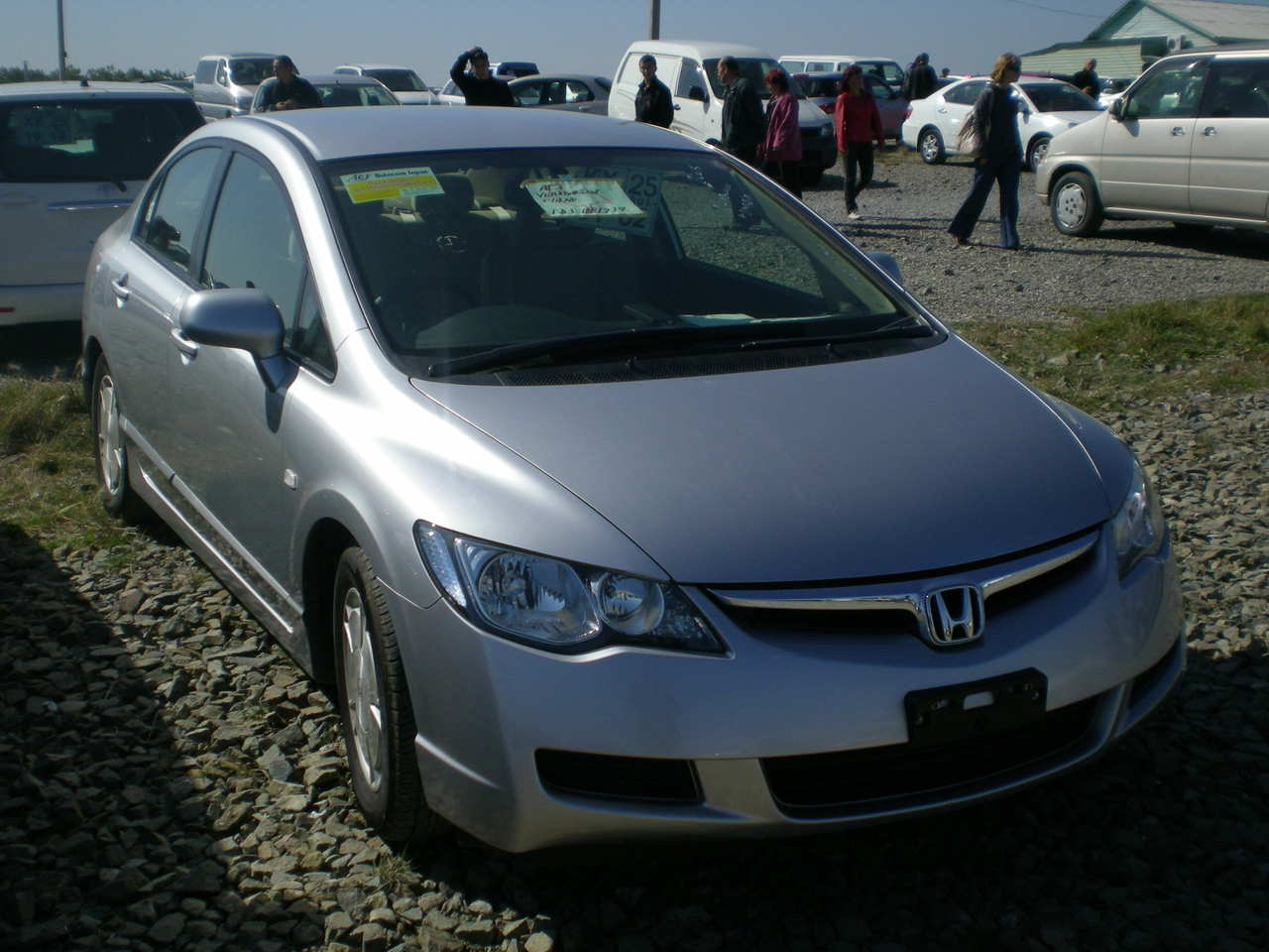 civic honda 2005 hybrid cars transmission automatic enlarge gearbox drive