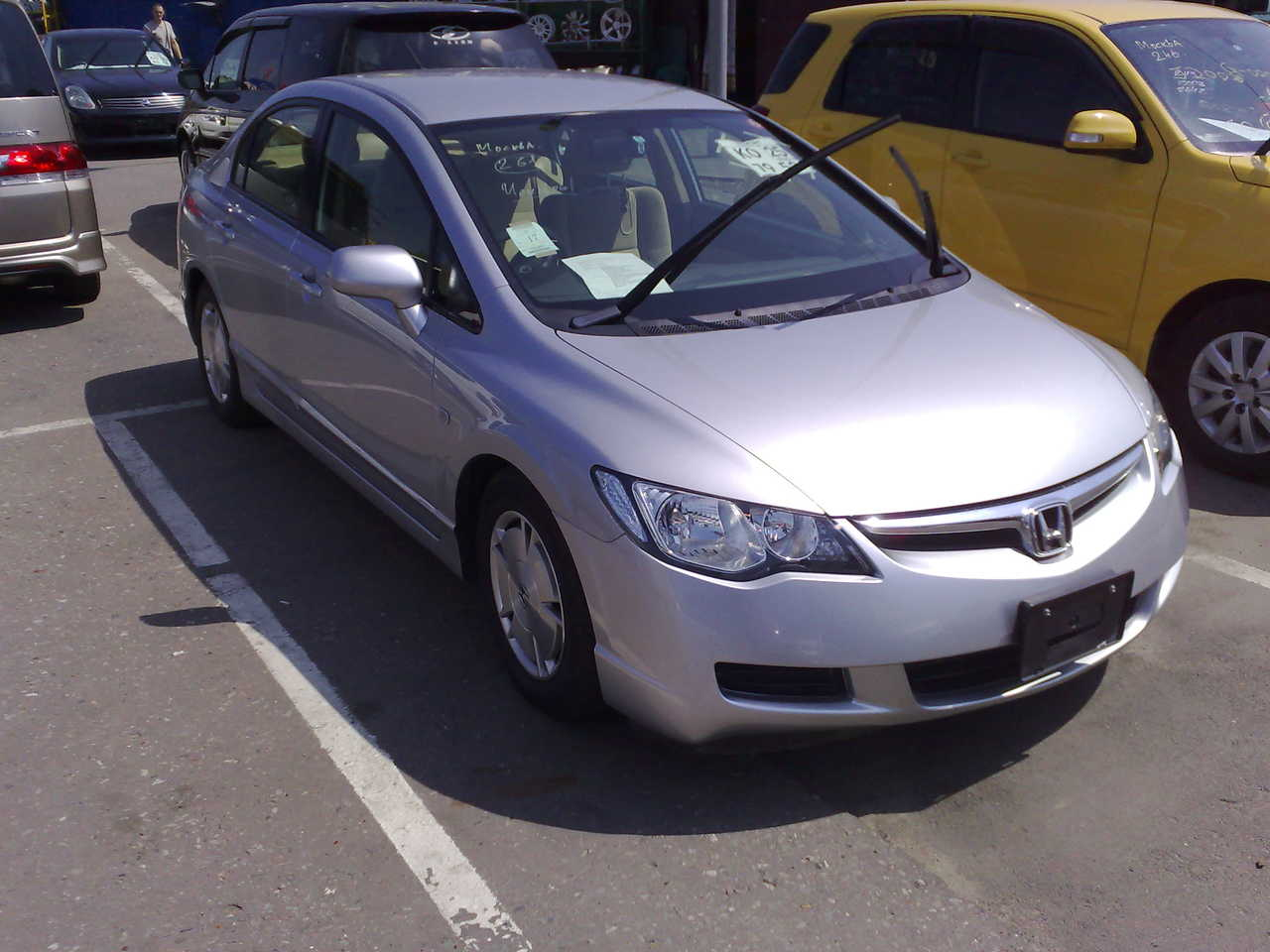 2006 honda civic hybrid photos 1 3 ff cvt for sale. Black Bedroom Furniture Sets. Home Design Ideas