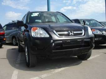 2002 Honda CR-V Wallpapers