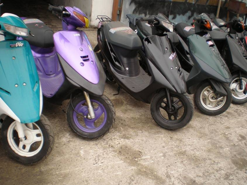 2000 Honda DIO Pictures, 0.1l. For Sale