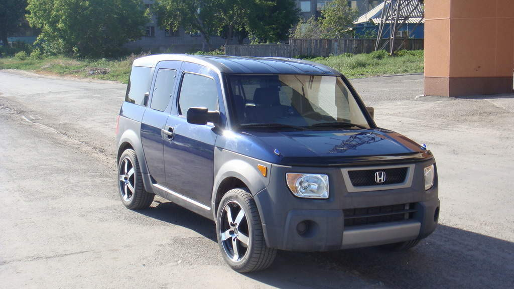 2003 honda element photos 2 4 gasoline automatic for sale. Black Bedroom Furniture Sets. Home Design Ideas