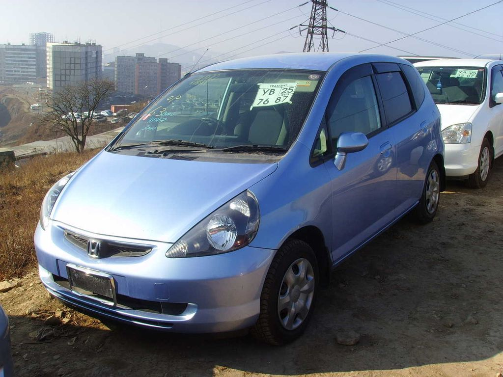 2001 Honda Fit A related infomation,specifications - WeiLi Automotive Network
