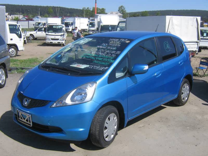 2009 honda fit pictures gasoline ff automatic for sale. Black Bedroom Furniture Sets. Home Design Ideas