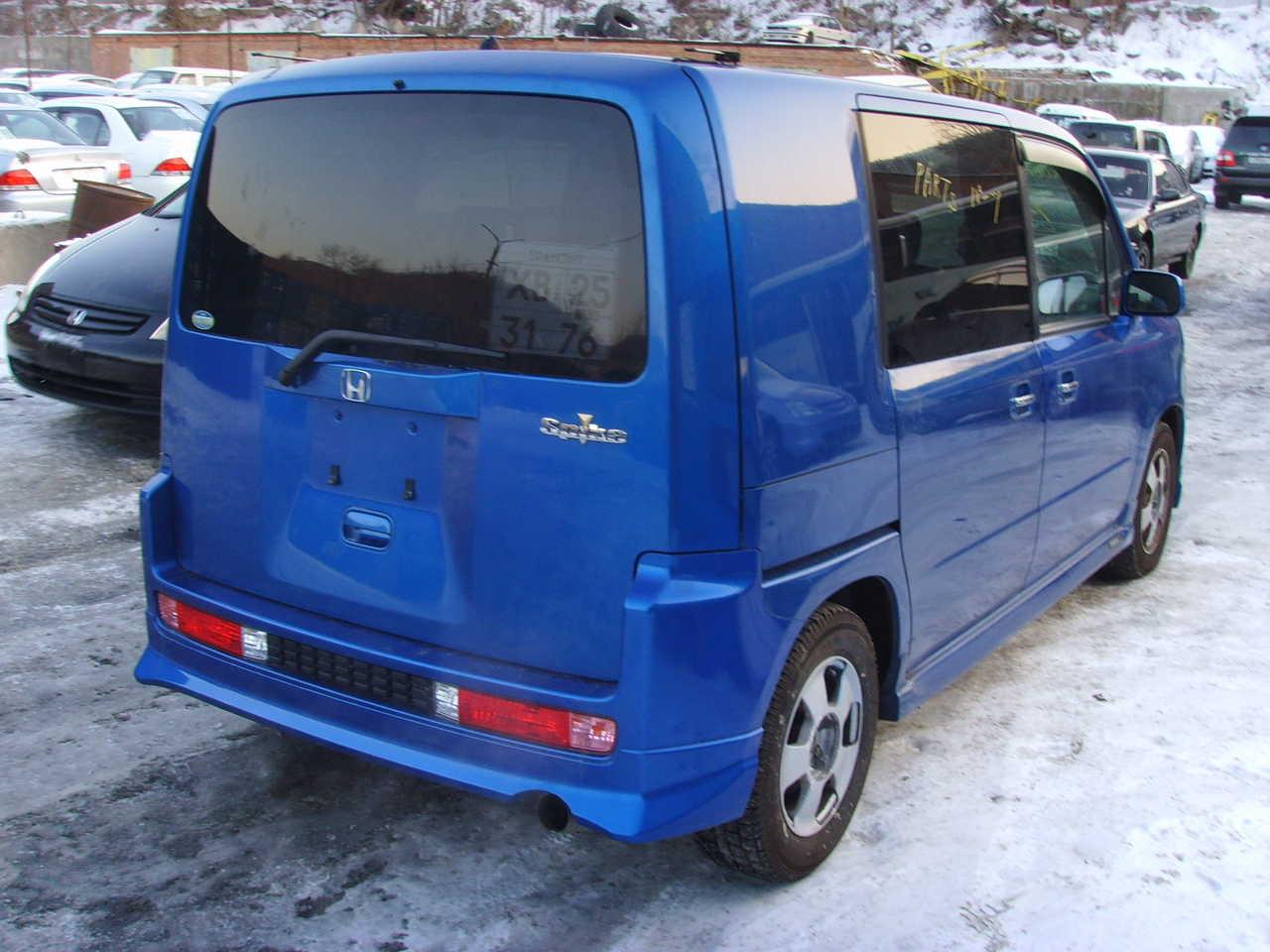 2002 Honda Mobilio Spike Pictures, 1.5l., Gasoline, FF ...