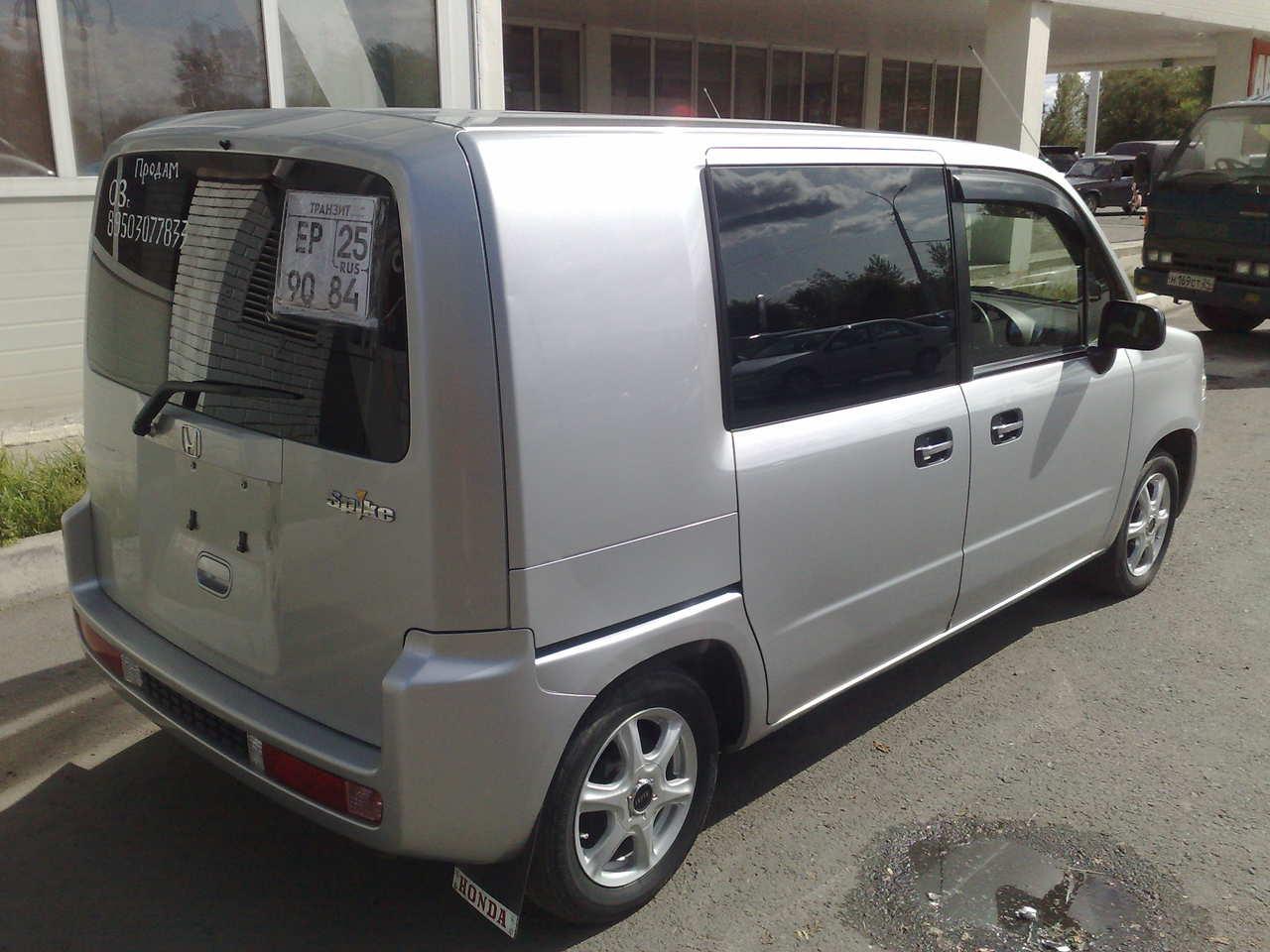 2003 Honda Mobilio Spike specs, Engine size 1500cm3, Fuel ...