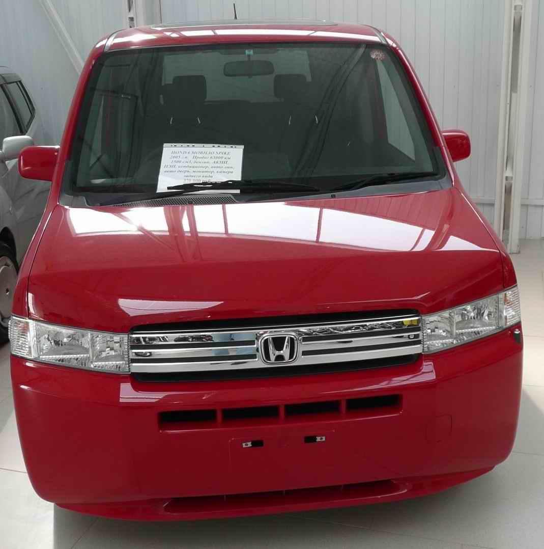 2005 Honda Mobilio Spike specs, Engine size 1.5, Fuel type ...