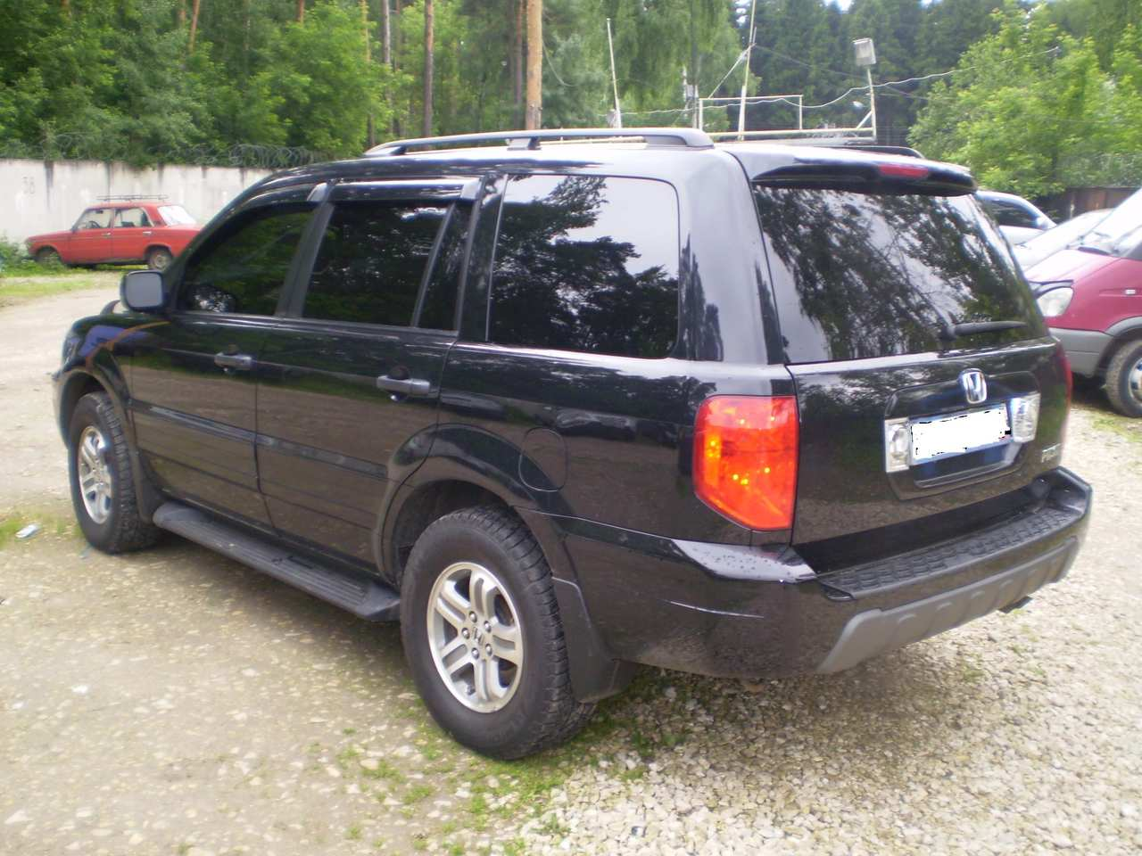 2002 Honda Pilot Pics, 3.5, Gasoline, Automatic For Sale
