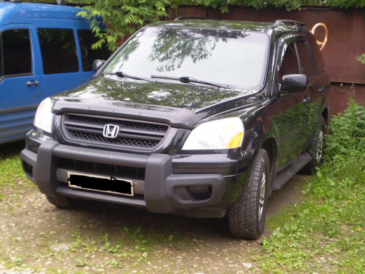 2002 Honda Pilot 3 5l Gasoline Automatic For Sale