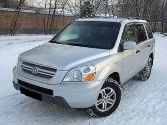 2005 Honda Pilot Photos