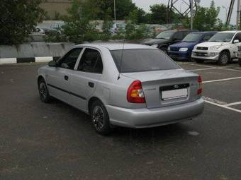 used 2001 hyundai accent photos 1495cc gasoline ff. Black Bedroom Furniture Sets. Home Design Ideas
