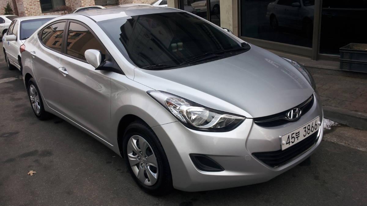 2011 Hyundai Avante Pictures 1 6l Gasoline Ff Manual