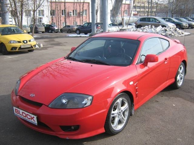 2005 Hyundai Coupe Wallpapers, 2.7l., Gasoline, FF ...