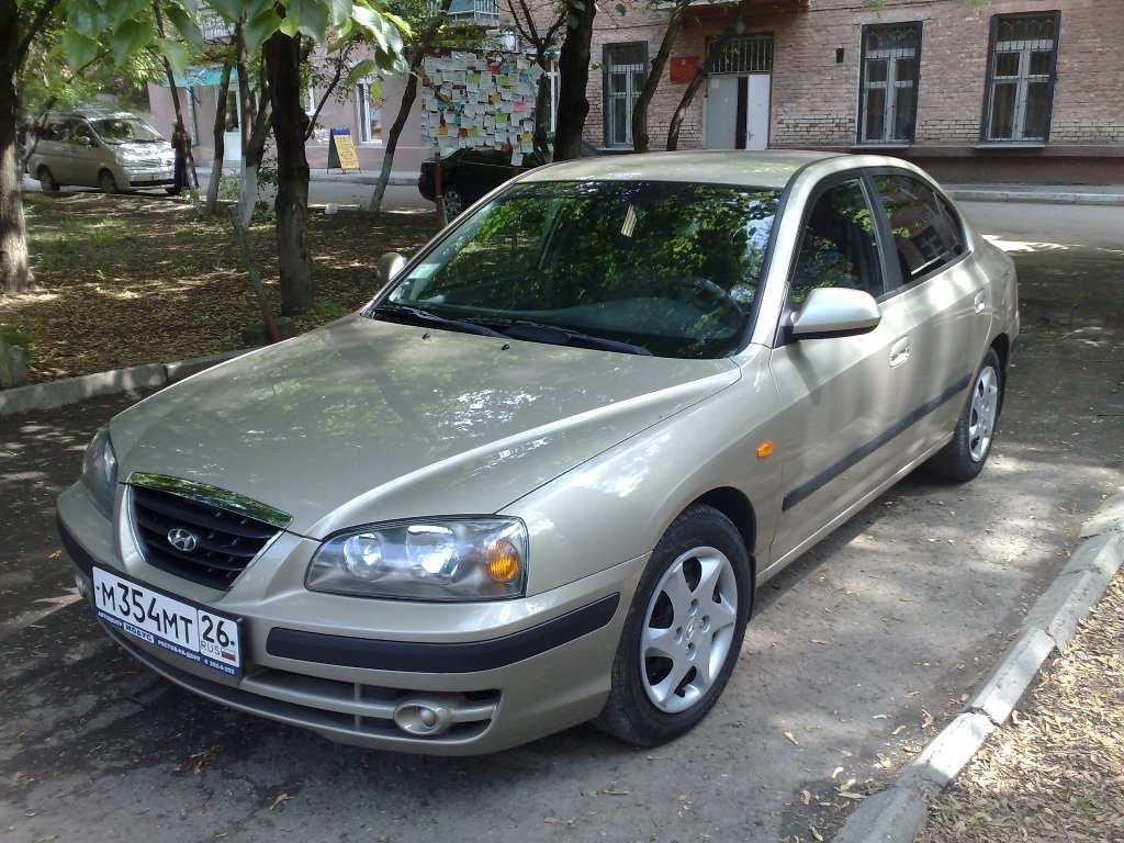 2005 Hyundai Elantra Pictures 1 6l Gasoline Ff