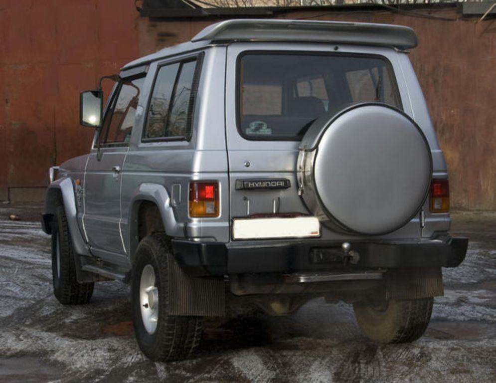 1994 Hyundai Galloper Pictures, 2400cc., Diesel, Manual ...