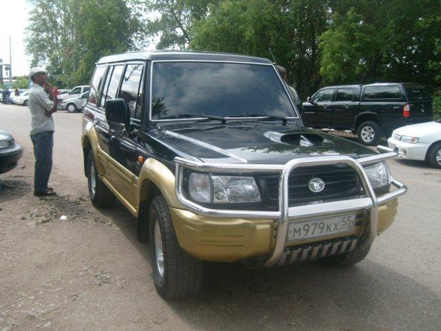 1999 hyundai galloper pictures 2500cc gasoline manual for sale. Black Bedroom Furniture Sets. Home Design Ideas