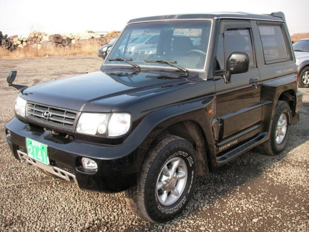 2002 hyundai galloper pics. Black Bedroom Furniture Sets. Home Design Ideas