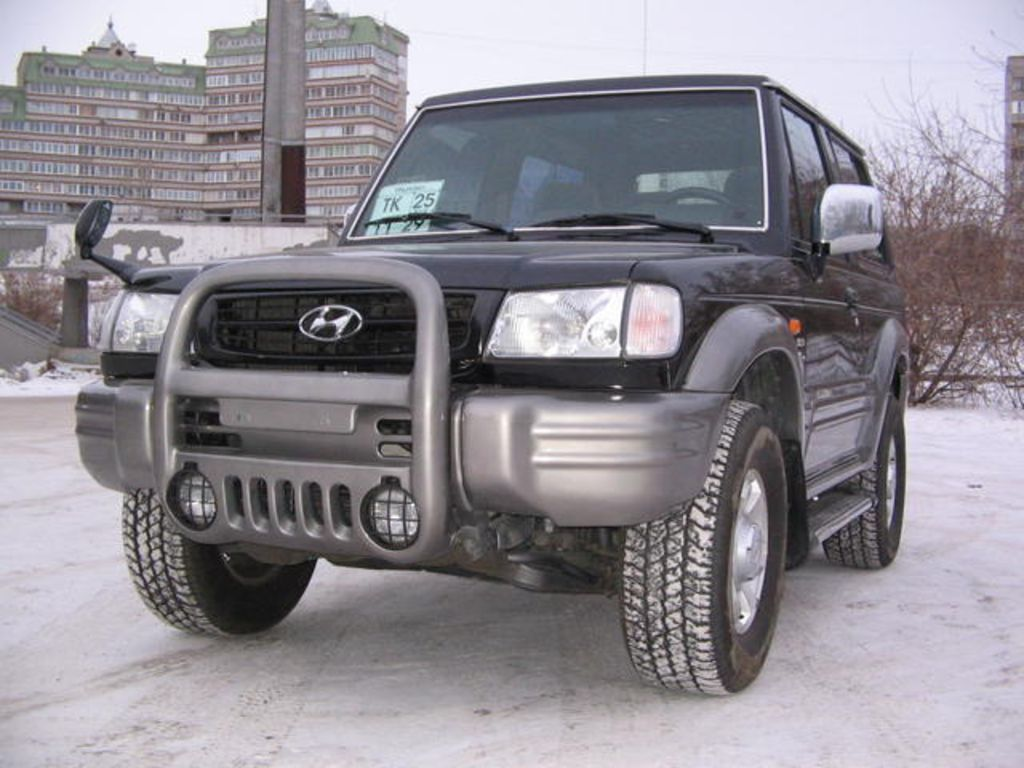 2003 hyundai galloper images. Black Bedroom Furniture Sets. Home Design Ideas