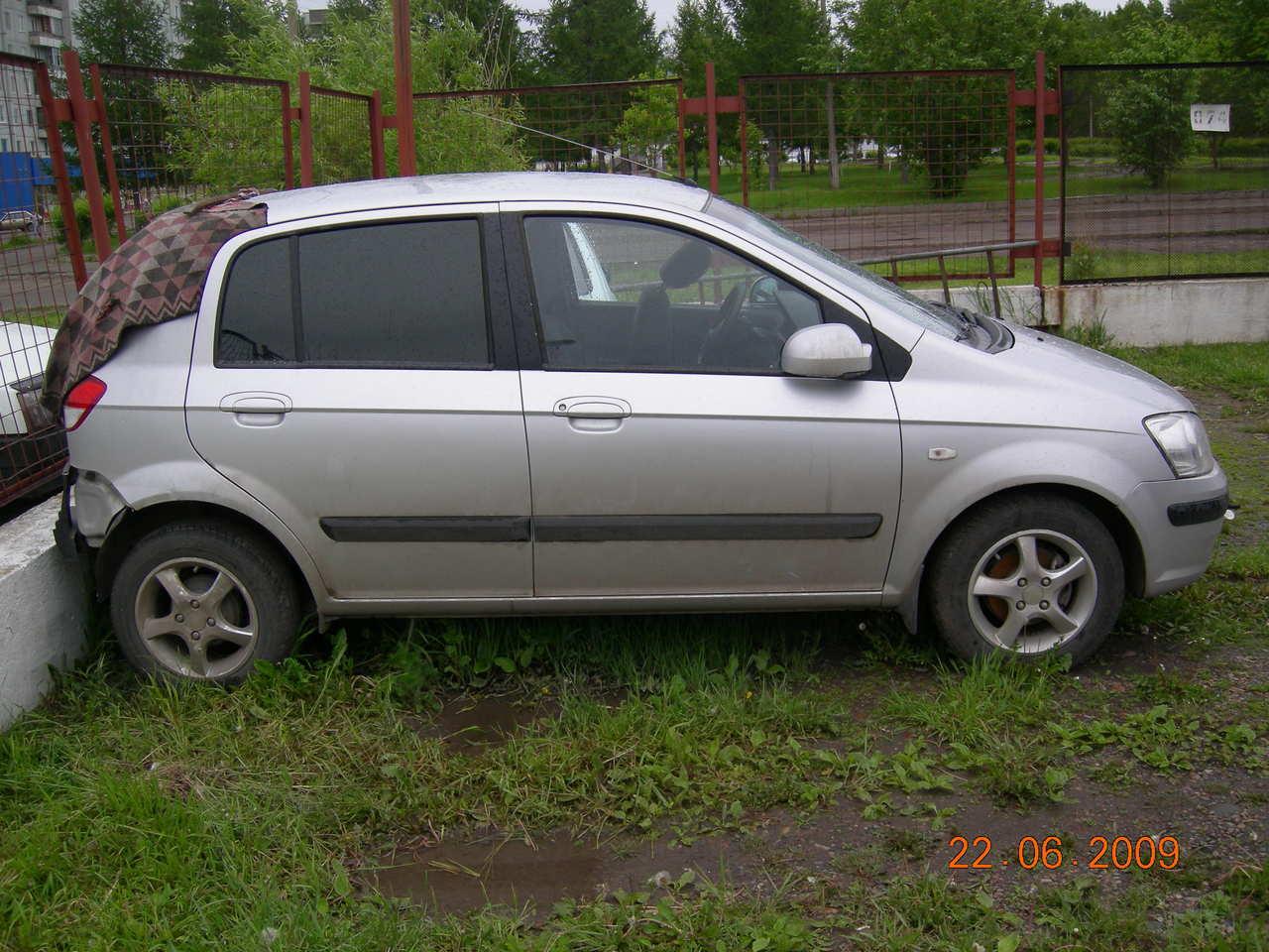 2003 Hyundai Getz Pictures 1 4l Gasoline Ff Automatic