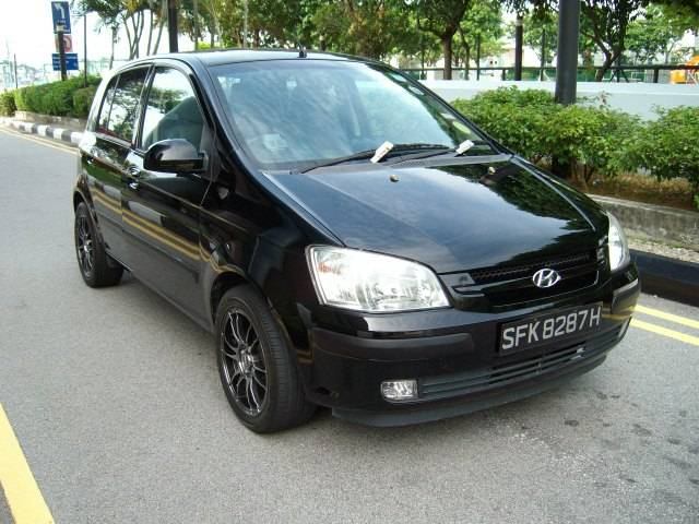 2004 hyundai getz pictures gasoline ff automatic for sale. Black Bedroom Furniture Sets. Home Design Ideas