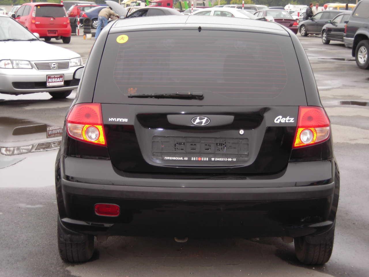 2005 Hyundai Getz Pictures 1 3l Gasoline Ff Manual For Sale