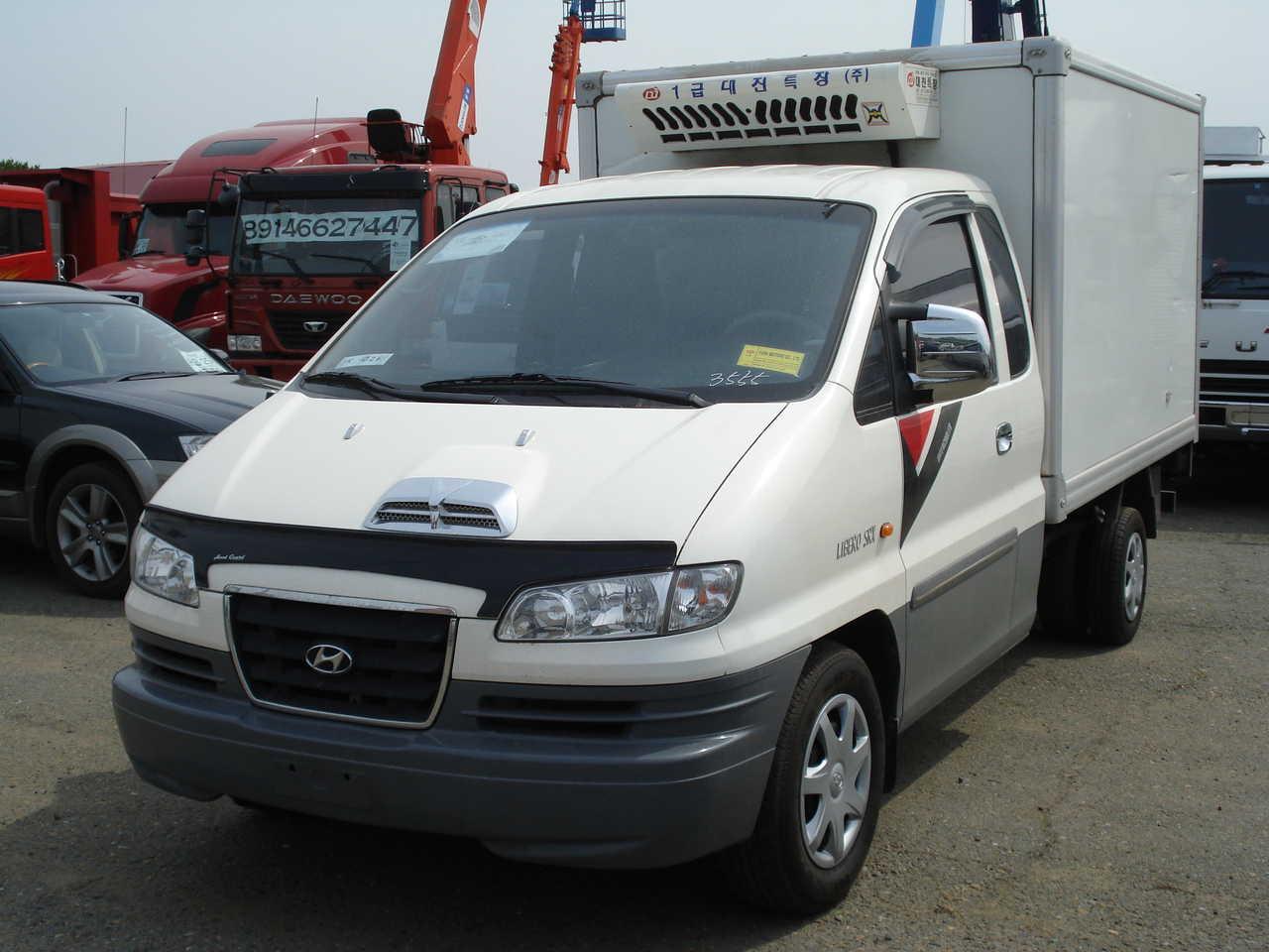 Used 2004 Hyundai Libero Photos, 2500cc., Diesel, FR or RR ...